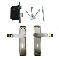 SHINE STAR ZINC ALLOY HANDLE WITH LOCK-1117