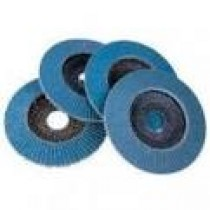 CERAMIC RESIN PAPER VELCRO DISC- FP594:0060 0150mm - 6HOLES (FP59409015006V)